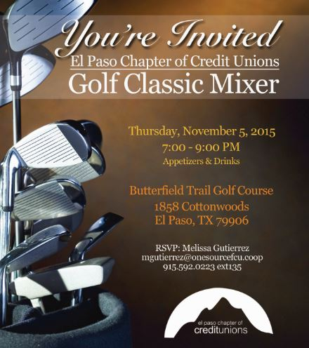 El Paso Chapter Golf Mixer2SM
